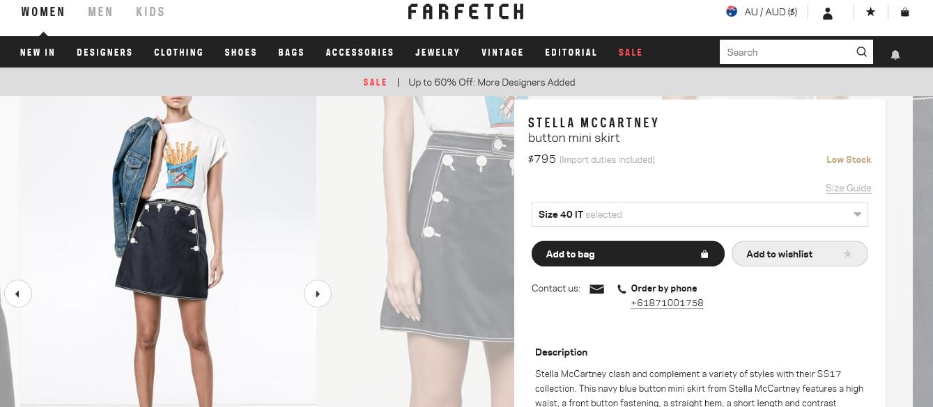 farfetch.com shop