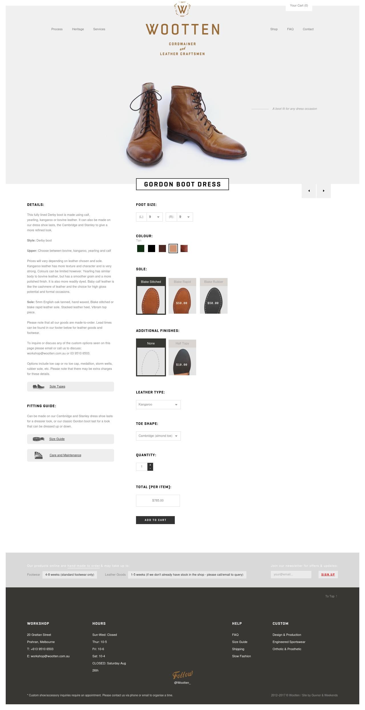 wooten.com.au shop